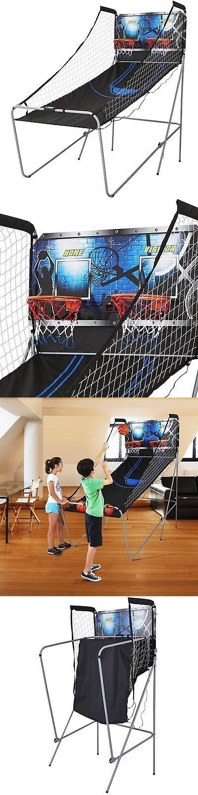 Other Indoor Games 36278: 2-Player Basketball Game Arcade With 8 Game Options Md Sports BUY IT NOW ONLY: $58.86