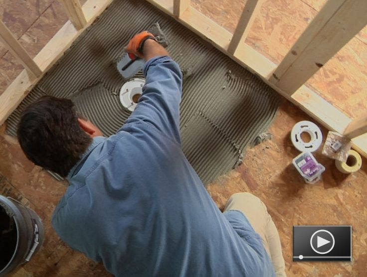 Basic tiling skills can be very useful in many home improvement projects, but some tiling projects can prove daunting for even experienced DIY'ers. Installing tile for a custom shower is one of those projects. Learn how to do it here!