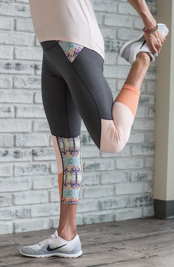 Brighten your workout wear with the CALIA™ by Carrie Underwood Women's Mesh  Detail Capris. These four-way stretch bottoms move with you all day, ...