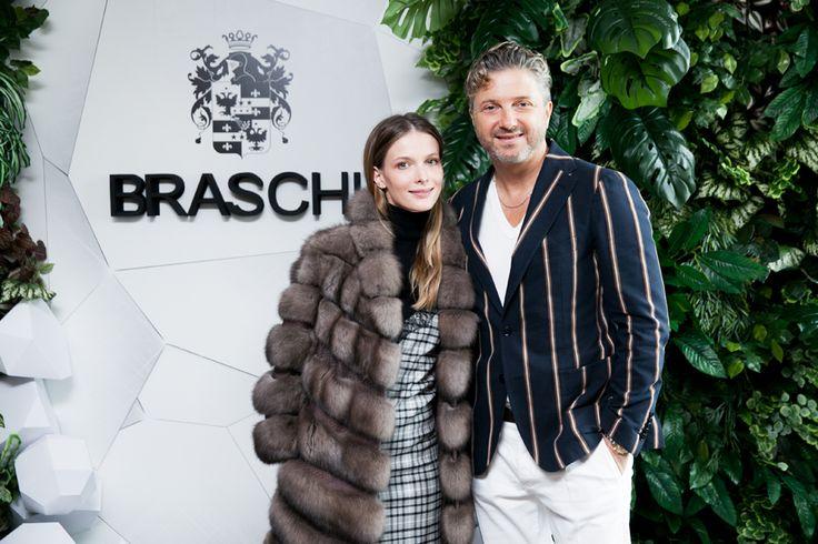 Svetlana Ivanova and Maurizio Braschi #braschifur #fur #fashion #luxury