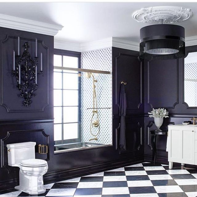1000+ Ideas About Black White Bathrooms On Pinterest