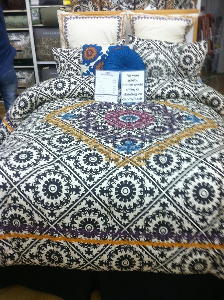 Comforter: Olsen by Anthology @ Bed Bath & Beyond