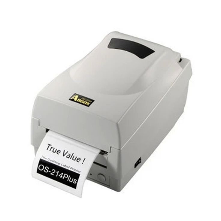 247.00$  Buy now - http://aliwty.worldwells.pw/go.php?t=32253757438 - Argox thermal transfer ribbon printer 0S-214plus 203dpi barcode sticker printer support printing Jewellery clothing label tags 247.00$