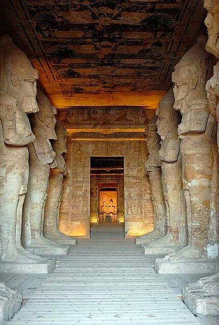 Templo de Ramses. Abu Simbel