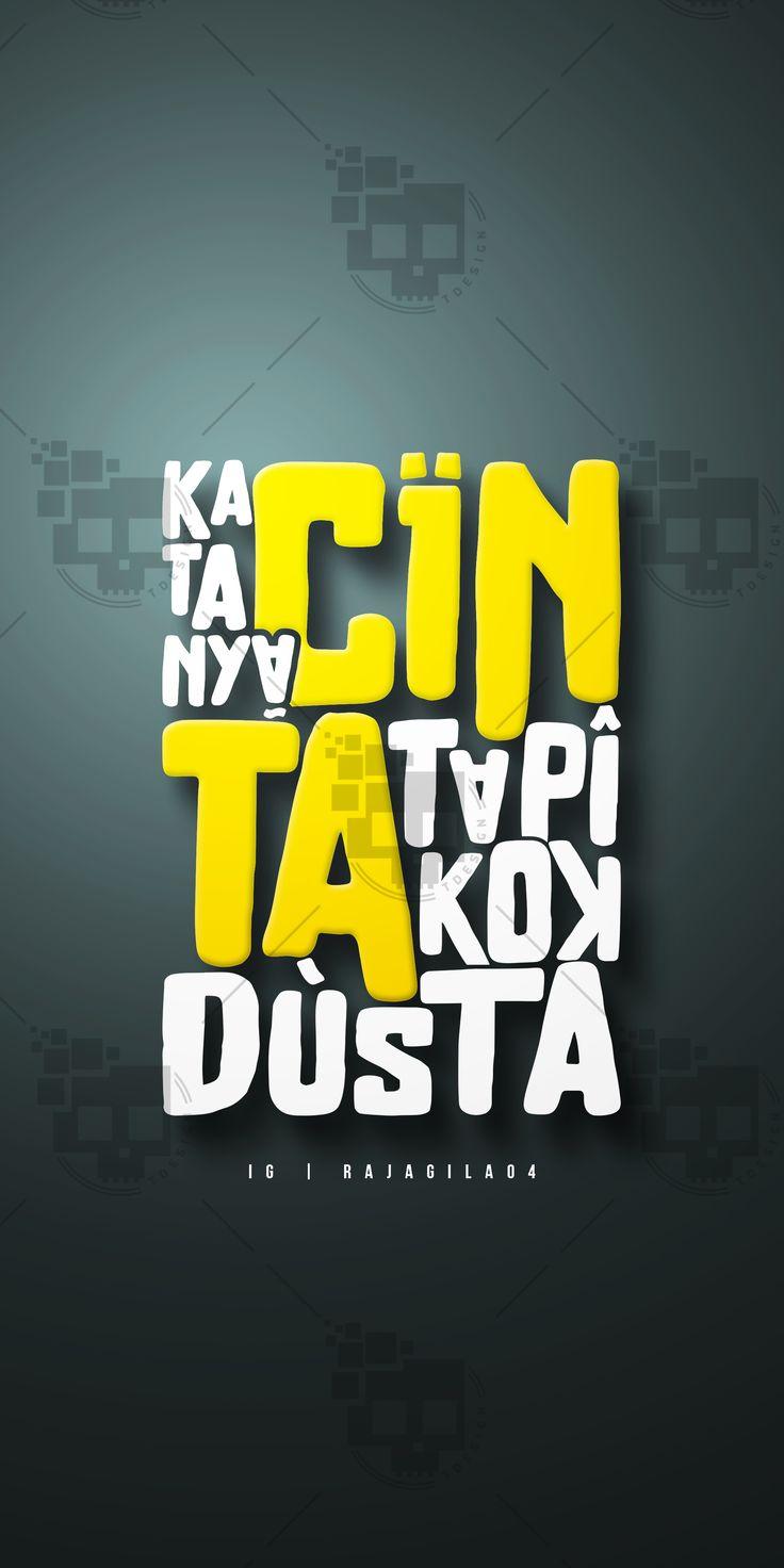 *Typography - LTRRNG 😏 fb | rajagila04 | ig Hopefully Inspire #hanyadimulutsaja #typography