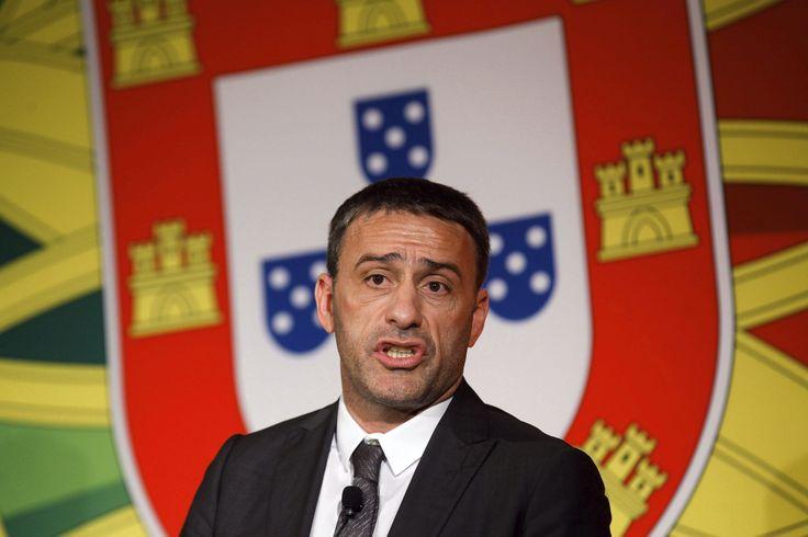 Paulo Bento, director técnico de la Selección fútbol de #Portugal. Foto: EFE.
