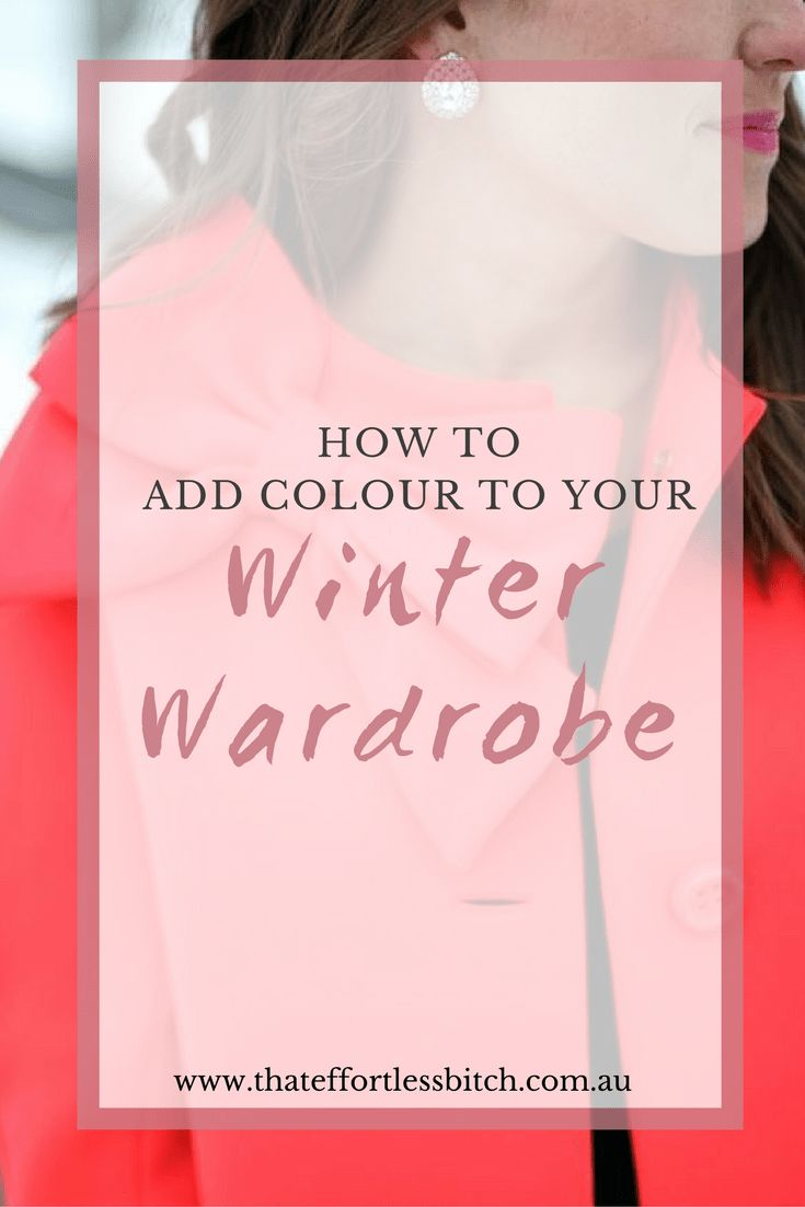 Learn How To Add Colour To Your Winter Wardrobe With Fashion Stylist Alarna Hope | Winter Style Tips | Winter Outfit Ideas | Colourful Winter Coats