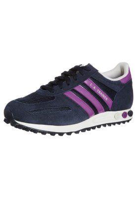 adidas Originals - LA TRAINER - Trainers - blue