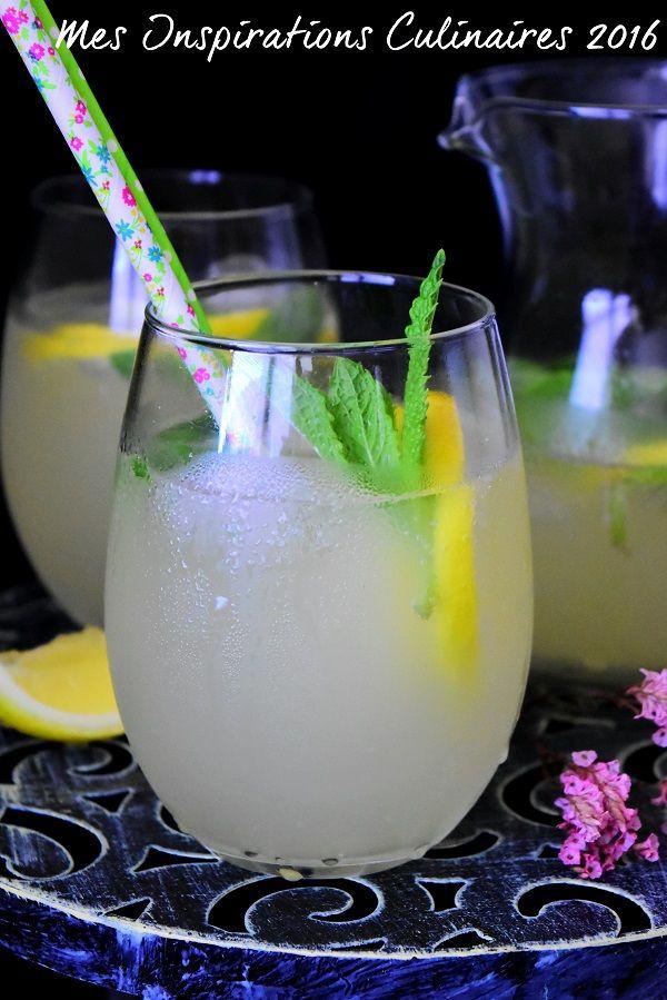 Limonade maison au citron                                                                                                                                                     Plus