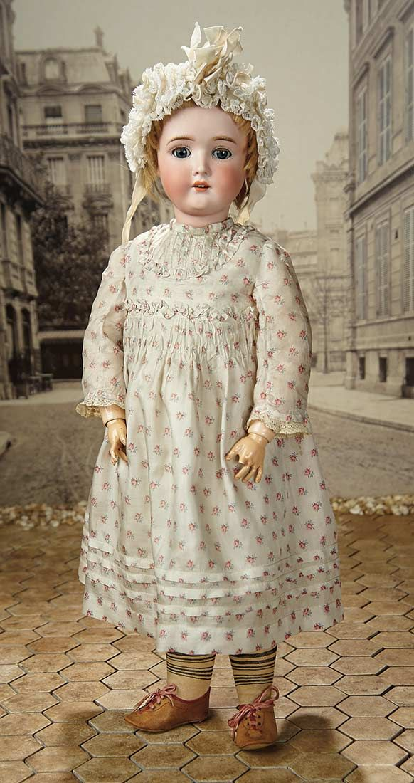 """""""Fascination"""" - Sunday, January 8, 2017: 366 Pretty German Bisque Doll """"The Dollar Princess"""""""