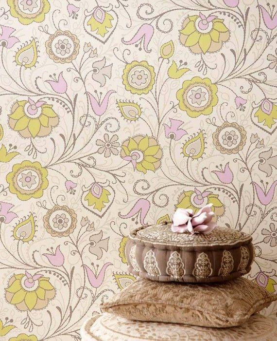 Flora | Papel de parede dos anos 70