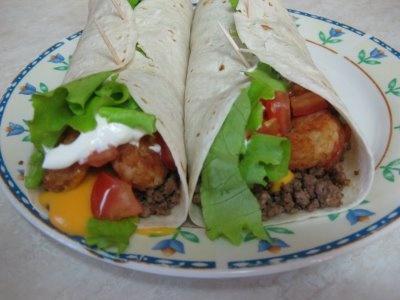 The Recipe Blog: Taco John's Meat and Potato Burrito