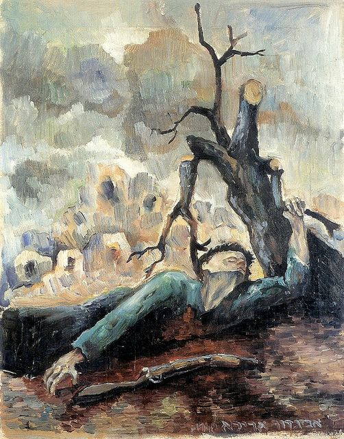 Arikha, Avigdor (1929-2010) - 1948 Independence War (Private Collection)