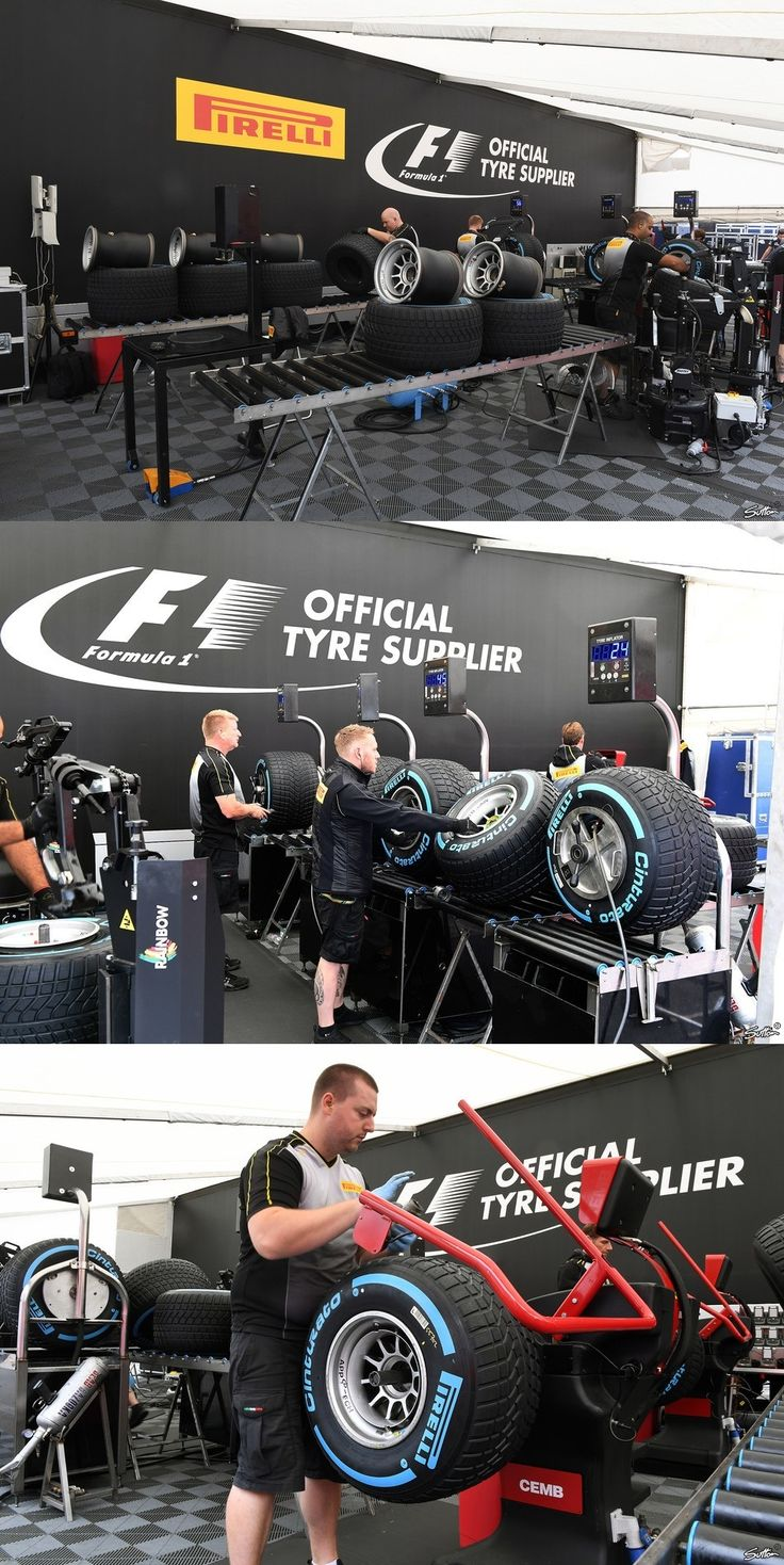 Pirelli Preparing The Tyers For The Teams Belgian GP | F1 2017
