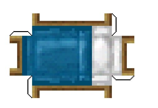 Pin By Sammy Kay On Minecraft Blue Bedding Paper Crafts