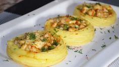 """Картофельные """"гнезда"""" с курицей. Прекрасное блюдо для детей и взрослых!"""