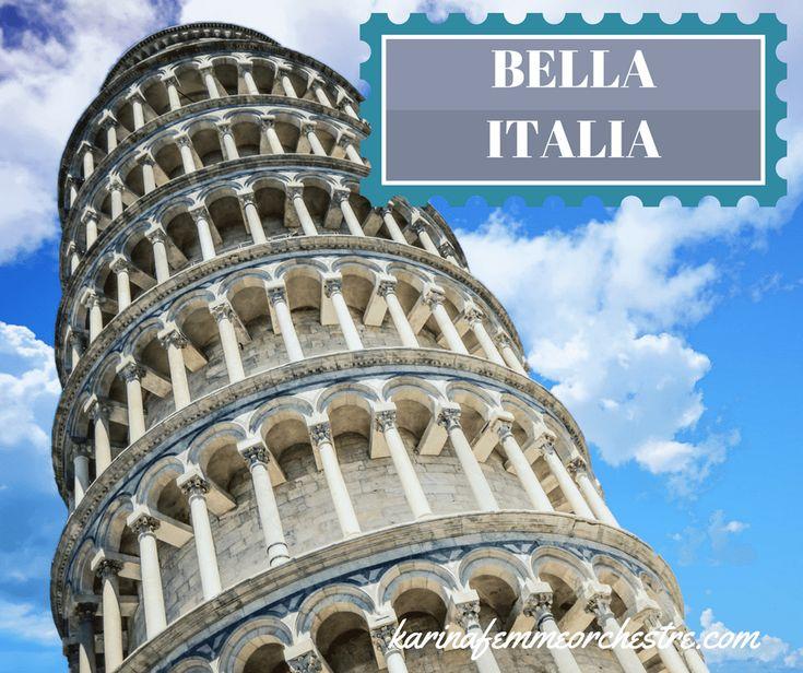 Bella Italia!  #voyageenItalie #Italie #Parme #Venise #Monaco #muséeFerrari #Maranello #CinqueTerre #rosadalfonsinabb #IlDolceTramonto #côteAmalfitaine #Pompéi #Furore