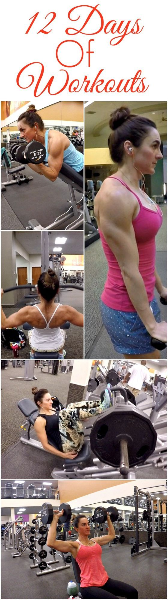 12 Days of Workouts   Fitness Food Diva   Bloglovin'