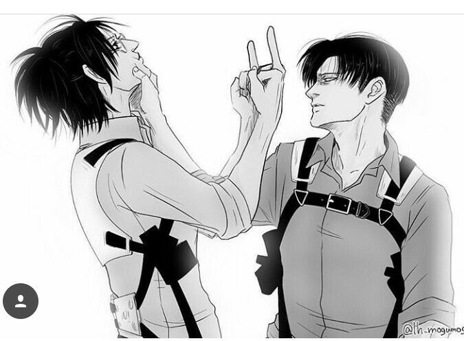LeviHan... they show affection by doing that