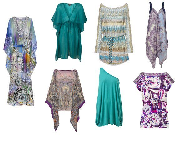 Kaftans for Women | Summer Shopping: Colorful Kaftans and Beach Cover-ups From Matthew ...