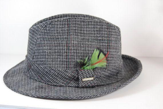 Mens Hat Stetson Fedora #vintage #etsymnt #fashion
