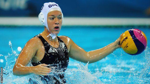 Great Britain's Ciara Gibson-Byrne a Water Polo star