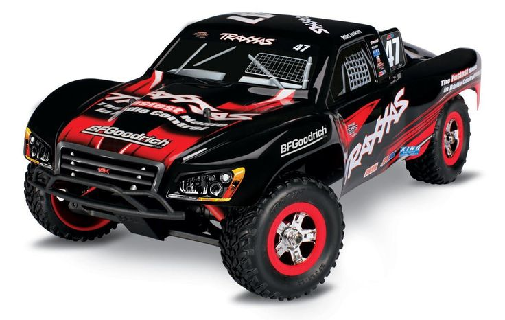 Traxxas 1:16 Slash 4X4 SCT Brushed W/NiMh ID Battery and Fast Charger
