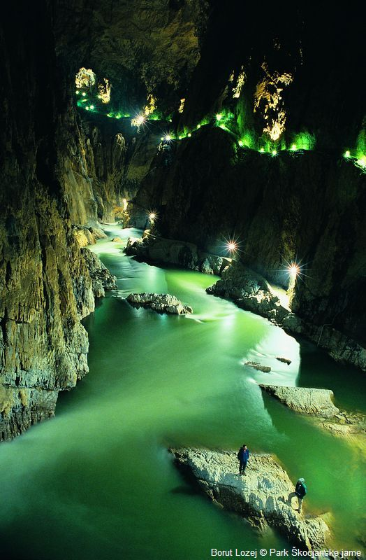 skocjanske jame, slovenia