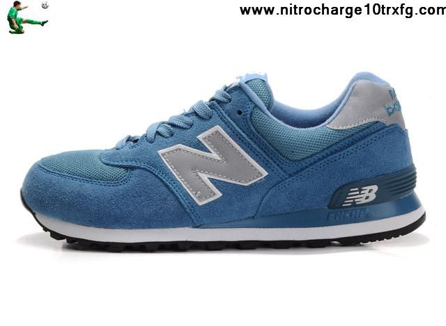 Latest Listing Discount New Balance NB ML574SB Grey skyBlue For Men Shoes Casual shoes Store