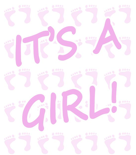 about baby shower clip art for girls on pinterest heart baby shower