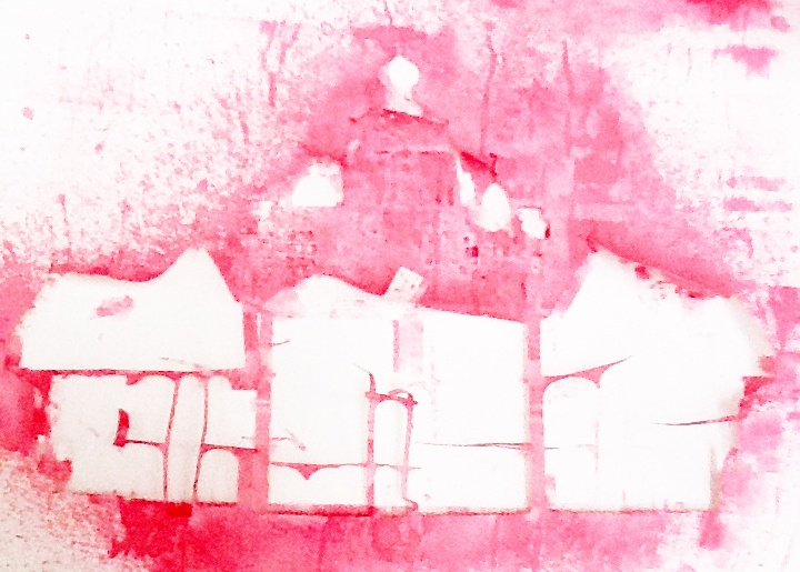 First sketch, 'Brokenhouse', loveproject, Studio Louise Campbell
