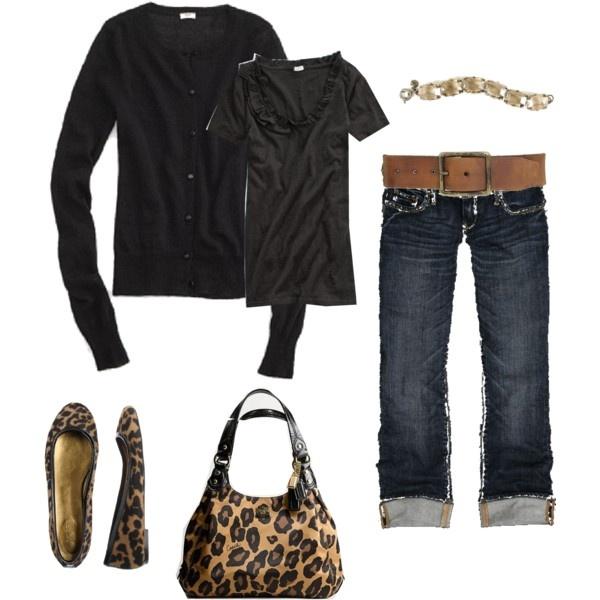 Simple: Leopards Shoes, Leopards Purses, Outfit, Leopards Bags, Cute Jeans, Animal Prints, Leopards Prints Flats, Leopard Prints, Leopards Flats