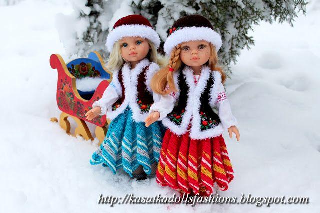KasatkaDollsFashions: Зимние фото кукол Паола Рейна :)