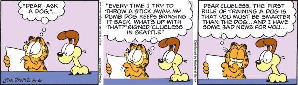 Garfield: Comics: Garfield comics  [11-4-17]