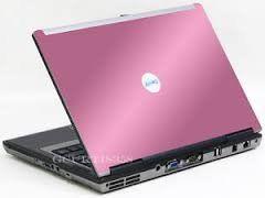 Unique Dell Latitude D620 Laptop in PINK