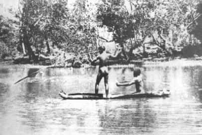 Aboriginal History of the Great Lakes District:  In the Great Lakes district there were two tribes - the Biripi, who inhabited the area between Tuncurry, Taree and Gloucester, and the Worimi, who occupied the land between Barrington Tops and Forster in the north and Maitland and the Hunter River in the south.