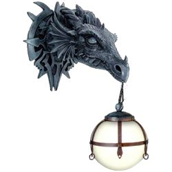 Dragon Lamps by Medieval Collectibles - omigods i want them ALL!!! :)