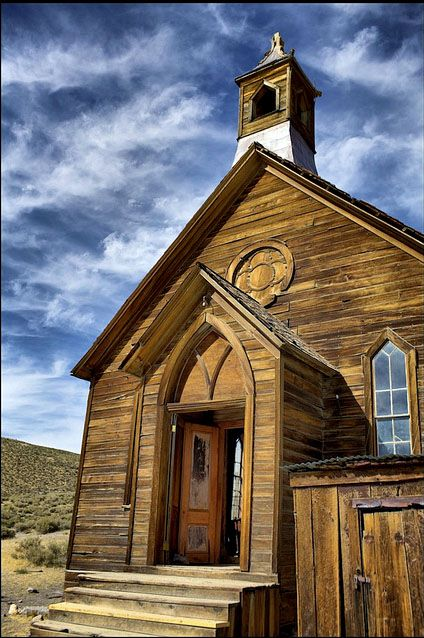 Ghost Town Methodist Church - Bodie, California