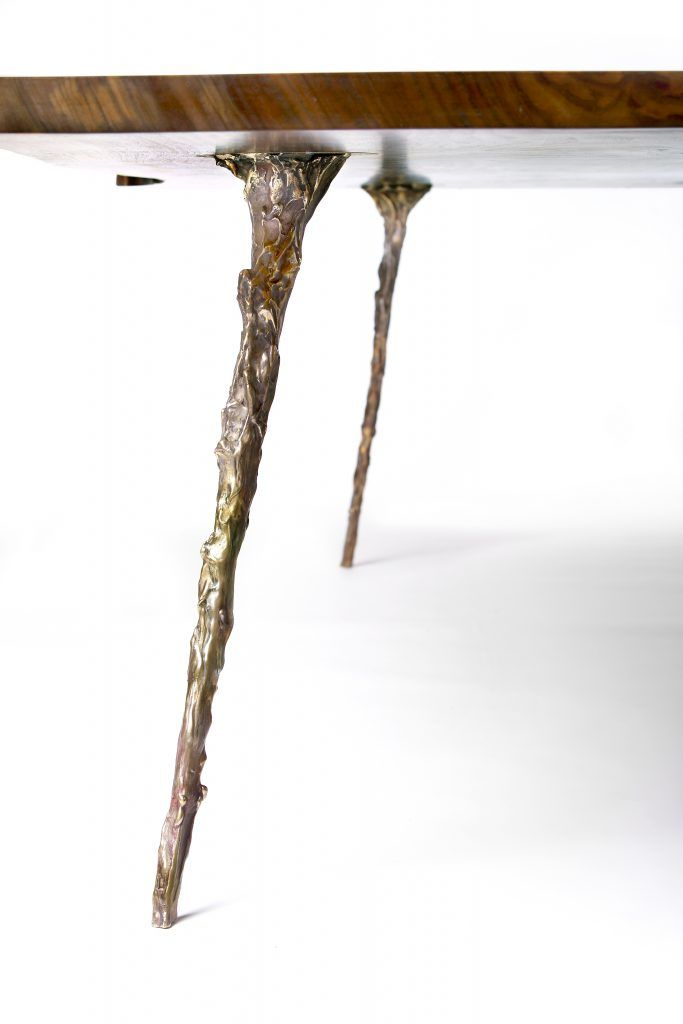 Briar Desk U0026 Table Leg, Natural Bronze