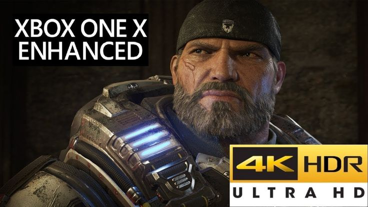 Gears Of War 4 XBOX ONE X 4K Patch Is Coming This Month - 4K Res & Textu...