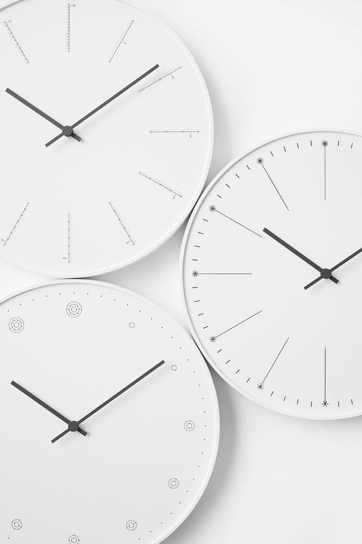 nendoが手がけるユニークな壁掛け時計、レムノスから発売
