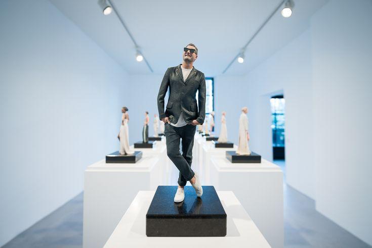 """Bereits im Januar ludendie Galeristin Anna Jill Lüpertz und der Designer Michael Michalsky zur Eröffnung und exklusiven Preview der 3D Ausstellung """"REALIT"""