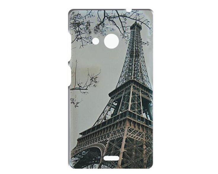 For Nokia Lumia 535 Case /Luxury Crystal Diamond 3D Bling Hard Plastic Cover Case For Nokia Microsoft Lumia 535 Phone Cases 1PC