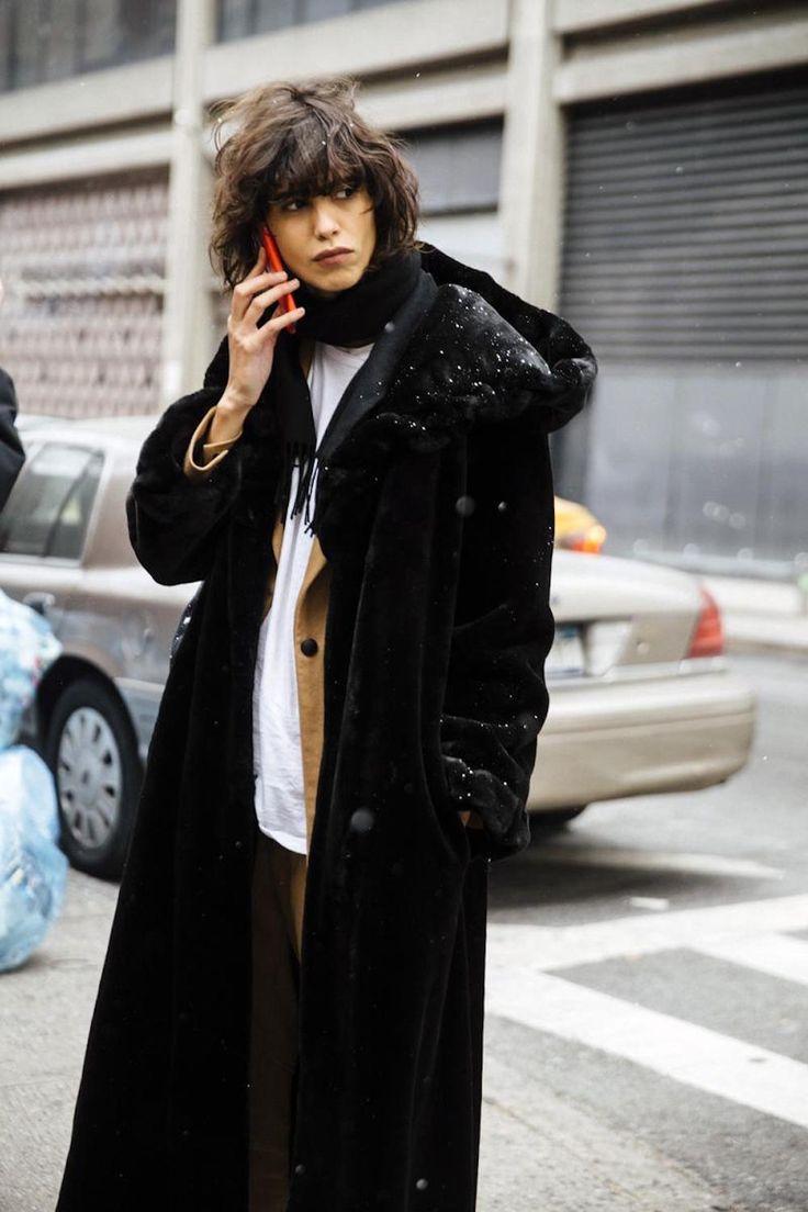 mica Arganaraz, modello, Oracle volpe, street style, fuori servizio 2016