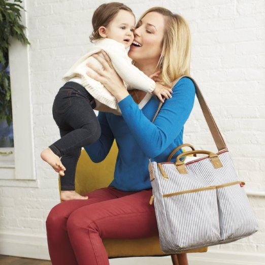 Amazon.com: Skip Hop Duo Essential Diaper Bag, Chevron: Baby - I WANT THIS DIAPER BAG!!!!!