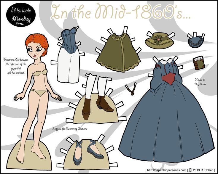 Mejores 16 imágenes de Emily\'s en Pinterest | Muñecas de papel ...
