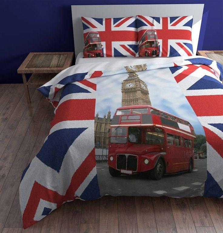 Sleeptime Dekbedovertrek London Double Decker