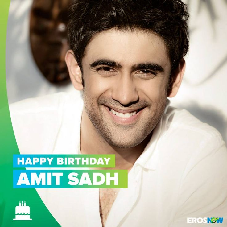 Wishing the angry young man from Sarkar 3, Shivaji Nagre a.k.a Amit Sadh a very Happy Birthday!