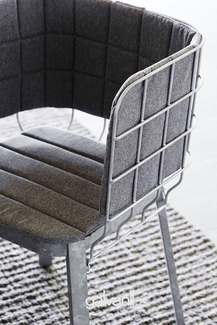 GIRD / galvanize steel chair www.galvanii.com