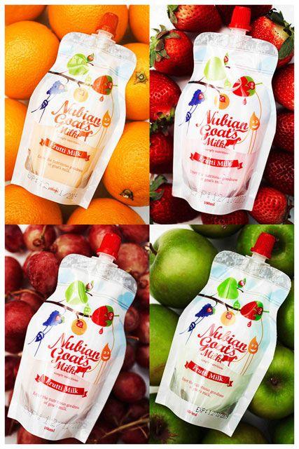 Frutti Milk Packaging by Frappe